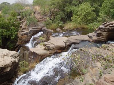 Les Cascades de Banfora au Burkina Faso