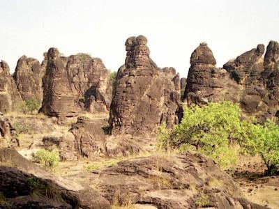 Les Pics de sindou au Burkina Faso